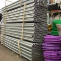 54mm x 6m Grey BT Duct with socketed end